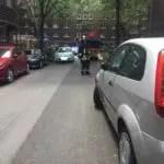 Feuerwehr wird durch Falschparker behindert - Brandeinsatz ging glimpflich aus