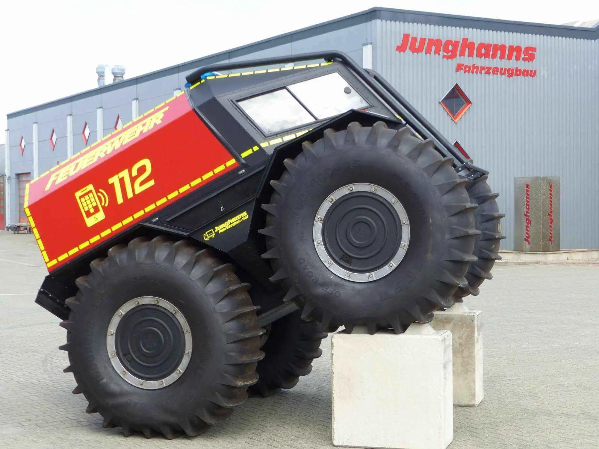 ATV Feuerwehr-Fahrzeug von Junghanns