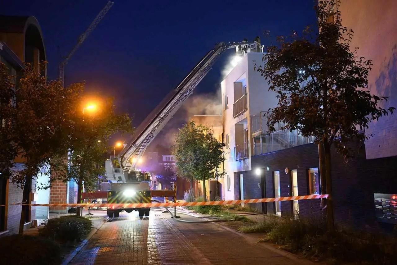 Belgien: zwei tote Feuerwehrleute bei Gebäudebrand