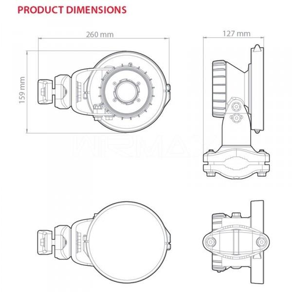 RF Elements Symmetrical Horn SH-TP-5-90