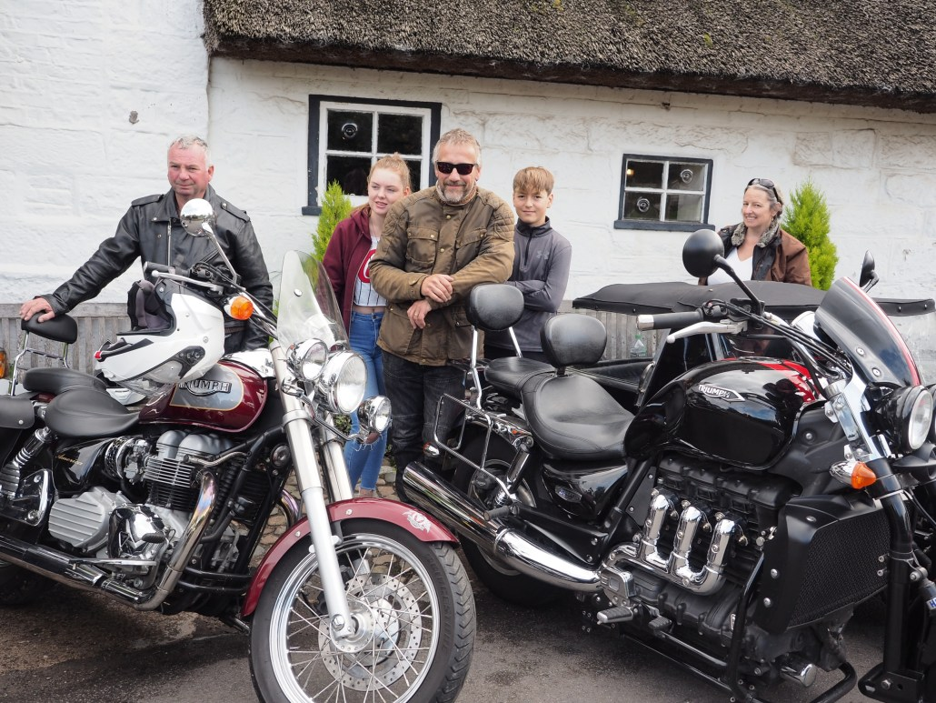 Wirral Triumph Owners MCC run pictures