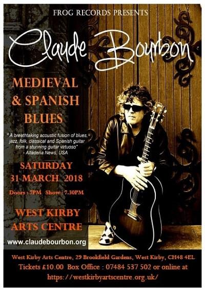 Claude Bourbon poster