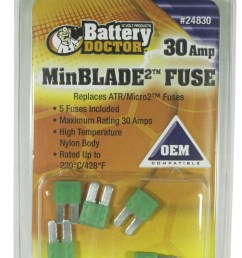 30 amp minblade2 fuse 5 retail 24830  [ 1284 x 2000 Pixel ]