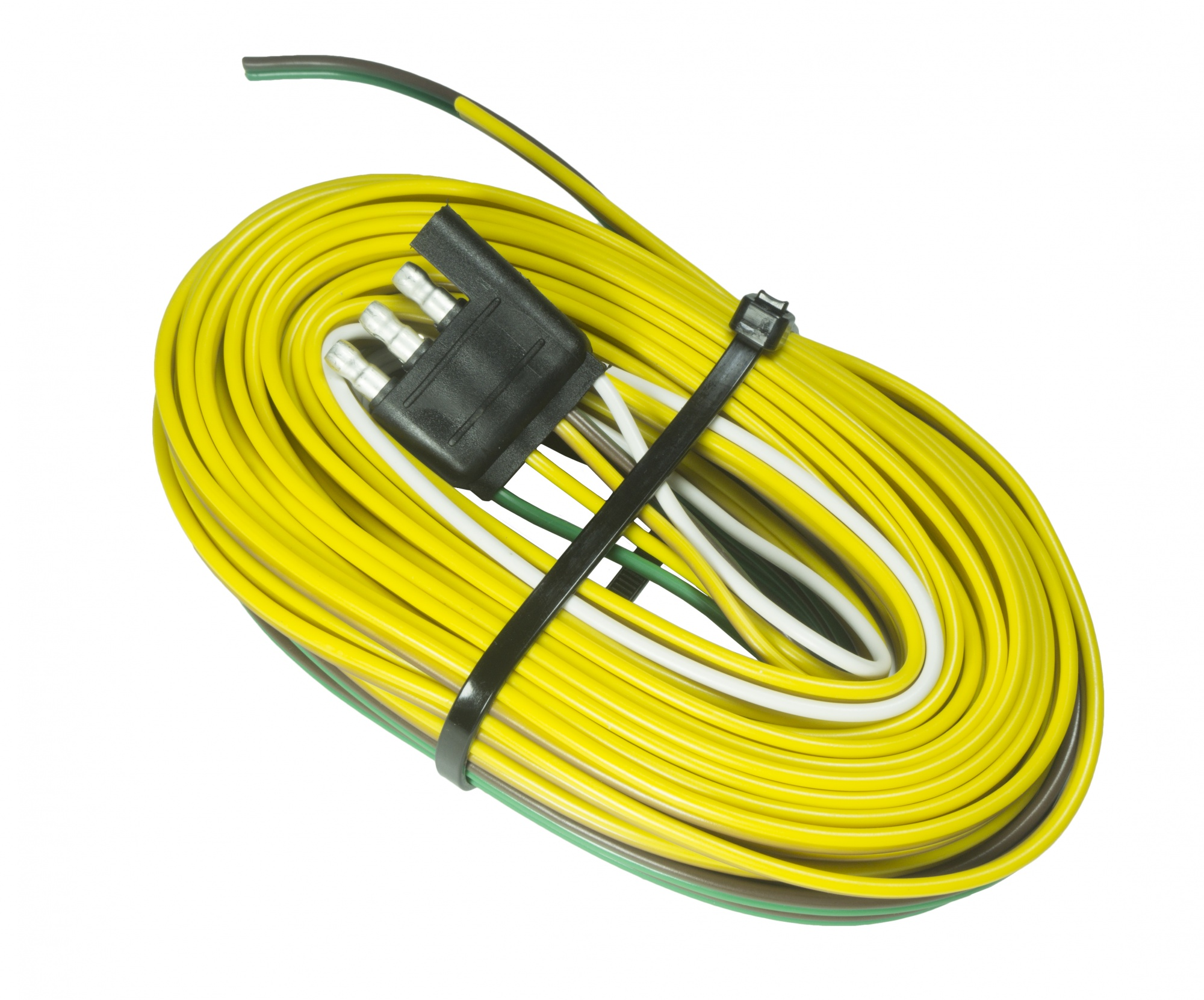 hight resolution of  30 4 way trailer end on air conditioning wiring color code dodge trailer plug trailer wiring harness