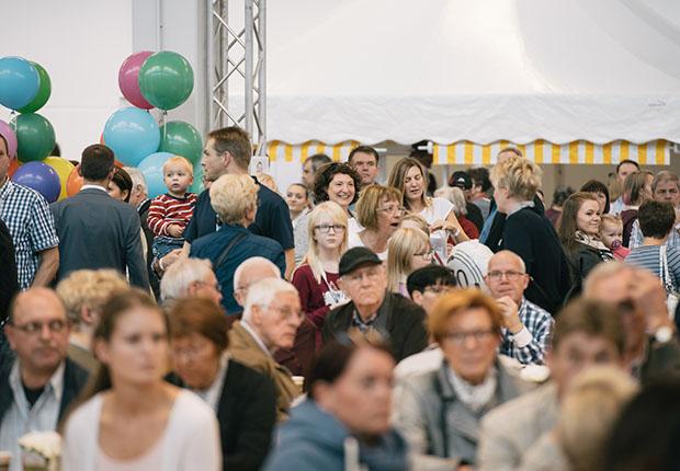 Familienfest Lenzes 70. Geburtstag