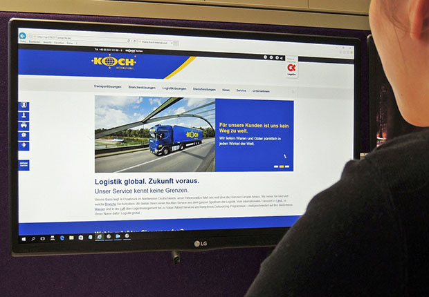 Koch International hat eine neue Website: www.koch-international.de