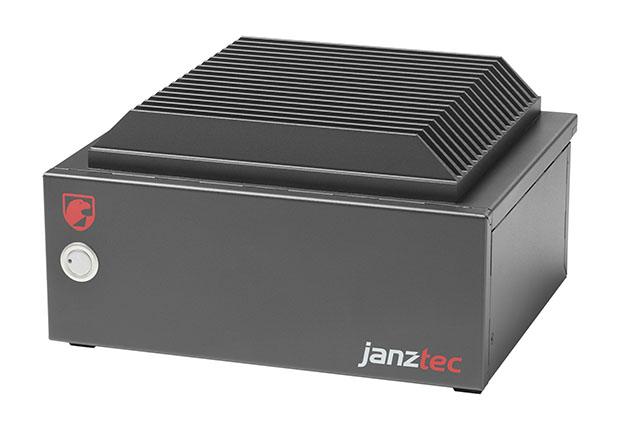 Janz Tec launcht ein weiteres System der kompakten Mini-ITX-Serie FALCON: den FALCON passive 2. Passive Konduktionskühlung mit flexiblem Wärmeleitkörper.