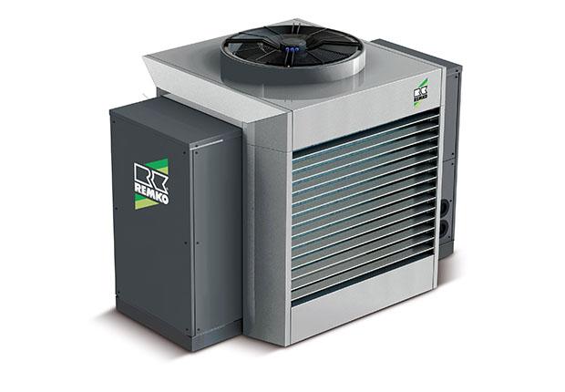Die Energiezentralen basieren auf effizienten Wärmepumpen.