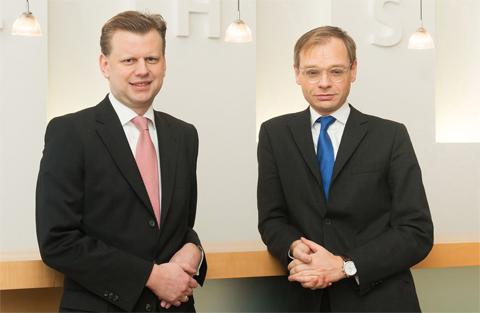 Clemens Hasenauer und Albert Birkner
