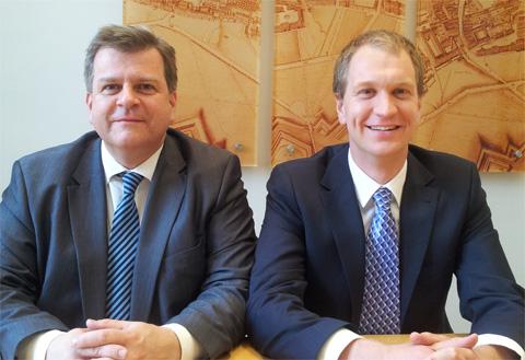 Volker Glas und Christian Aichinger