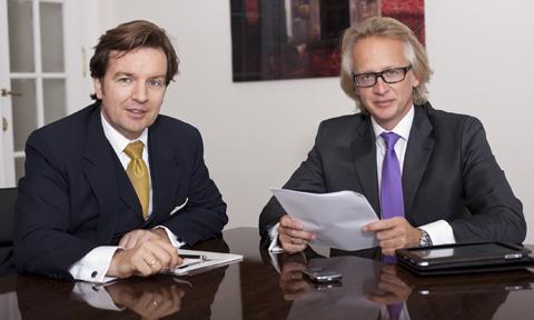 Günther Loibner und Haimo Sunder-Plassmann