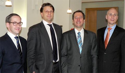 CHSH Team: Matthias Nodl, Markus Krenn,  Manfred Ton und Stefan Huber