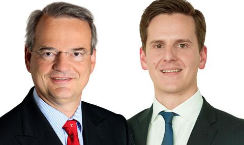 Dr. Johannes Reich Rohrwig und Arno Zimmermann