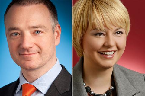 Erik Steger und Laura Struc