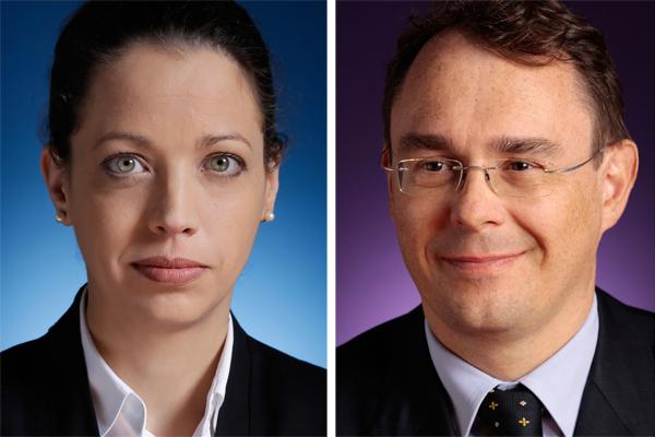 Petra Heindl und Richard Wolf