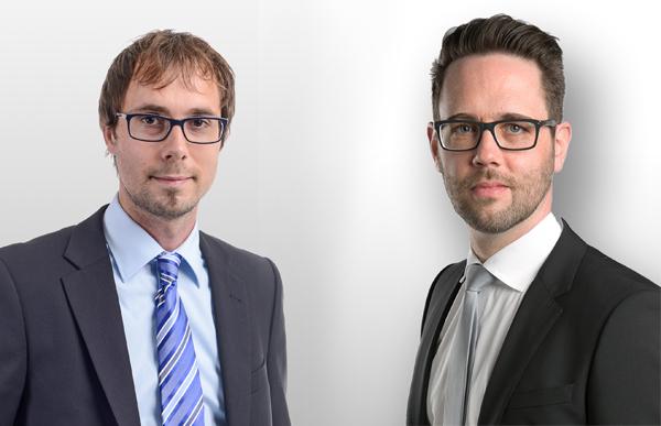 Rainer Lukits und Philipp Strondl