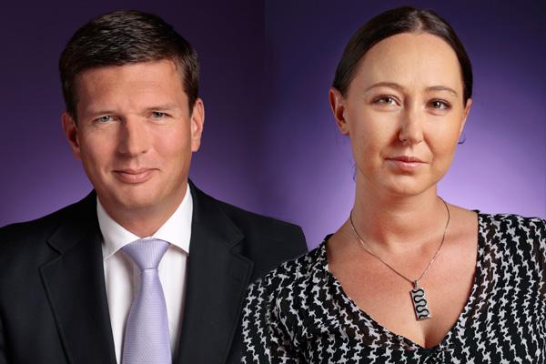 Dieter Spranz und Daniela Wieser