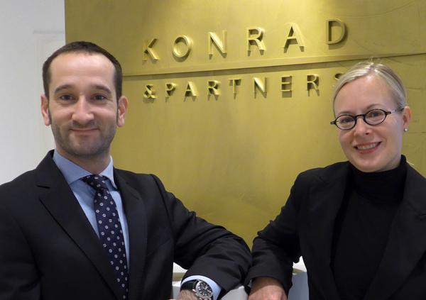 Michael Hofstätter und Kathrin Hoefer
