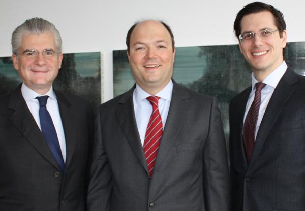Christoph Brogyányi, Tibor Varga und Bernhard Rieder