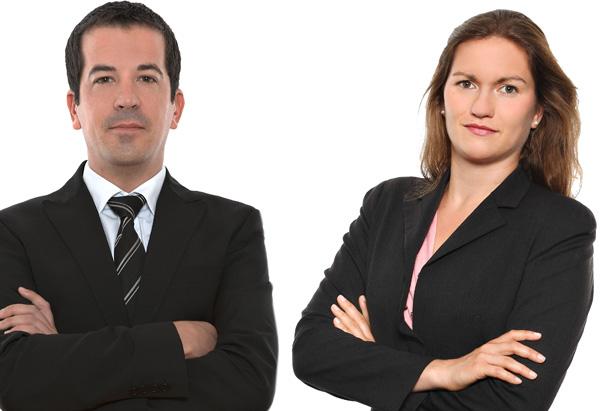 Wolfgang Höller und Miriam Simsa