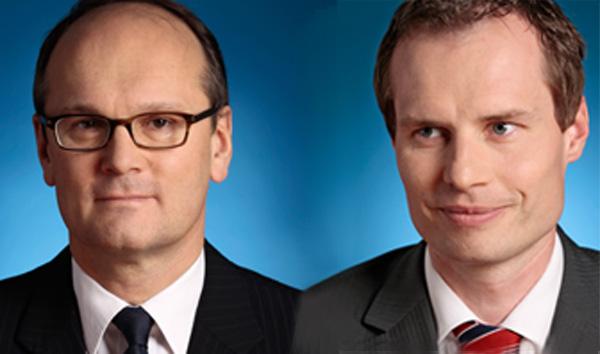 Horst Ebhardt und Hartwig Kienast