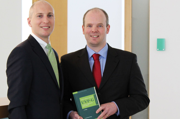 MMag. Dr. Stefan Huber und Dr. Nicolas Raschauer