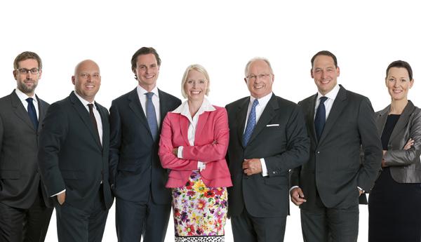 Philipp Strasser, Dieter Heine, Nikolaus Vavrovsky, Stefanie Werinos, Karl Ludwig Vavrovsky, Christian Marth, Daniela Kager