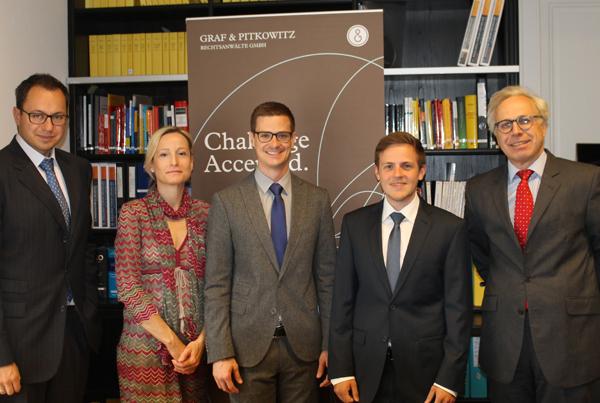 Dr. David Seidl, Univ.-Prof. Dr. Bettina Nunner-Krautgasser, Mag. Manuel Volkheimer, Mag. Florian Sprajc, Dr. Alexander Isola