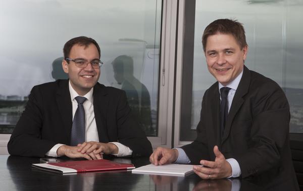 Daniel Reiter und Christoph Nauer