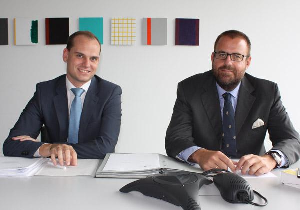 Bernhard Müller und Lorenz Wicho von DORDA BRUGGER JORDIS Rechtsanwälte.