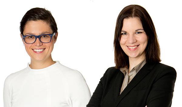 Julia Schuster und Magdalena Warum