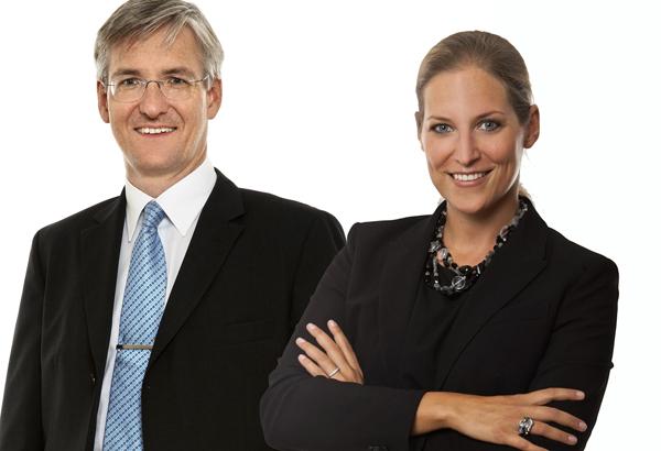 Hanno Wollmann und Stefanie Stegbauer