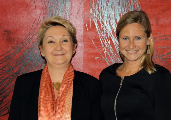 Silvia Bauer und Anna Mertinz