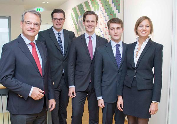 Johannes Reich-Rohrwig, Paul Rizzi, Arno Zimmermann, Constantin Call, Theresa Szilagyi