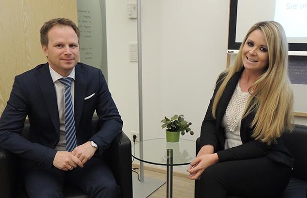 Bernhard Kall und Monika Sturm