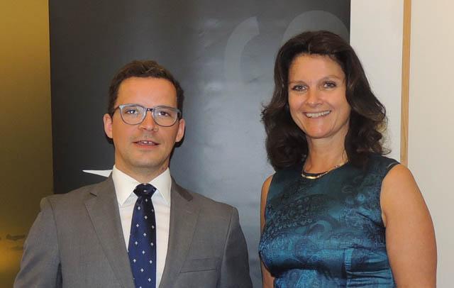 Christoph Gaar und Katharina Müller