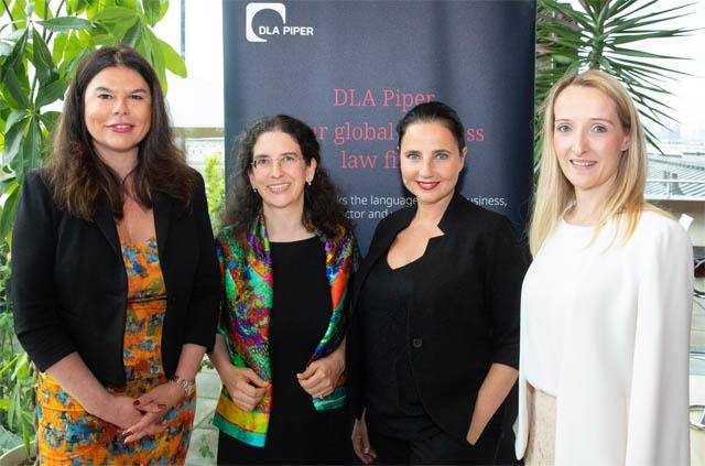 Claudine Vartian, Maria Doralt, Nadja Maleh und Elisabeth Stichmann