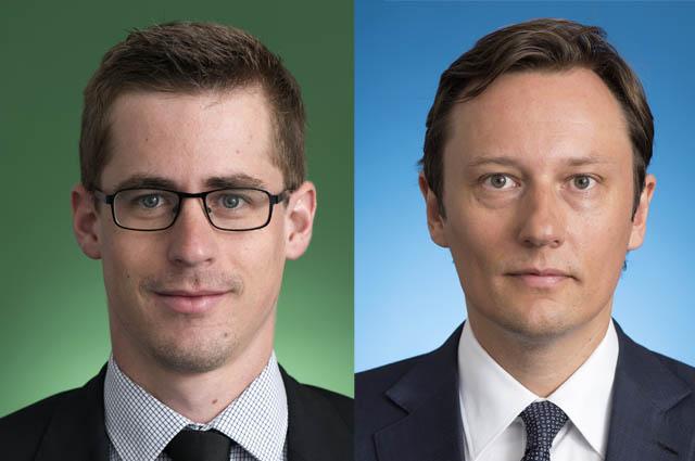 Nikolaus Dinhof und Claus Schneider