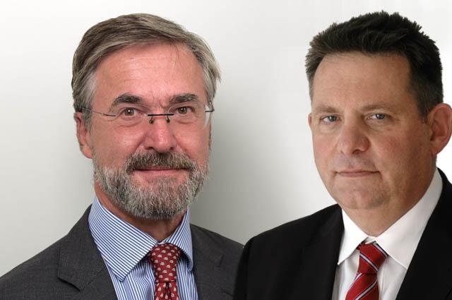 Ivo Deskovic und Peter Solt
