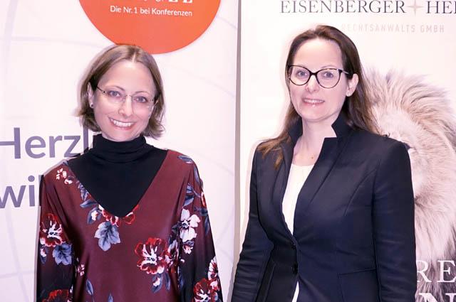 Dr. Jana Eichmeyer und Mag. Judith Feldner