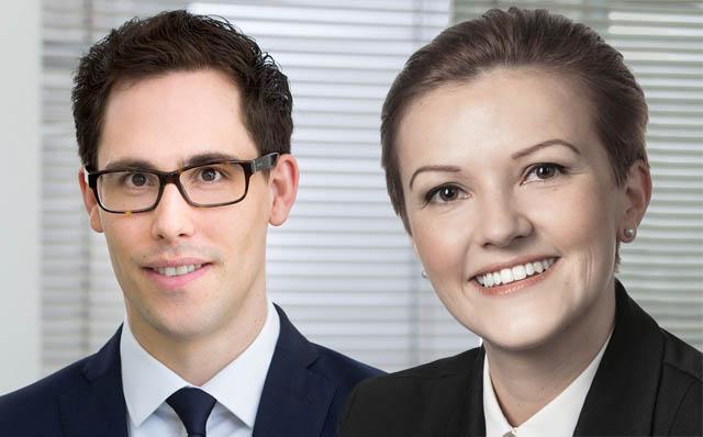 Michael Delitz und Barbara Gangl