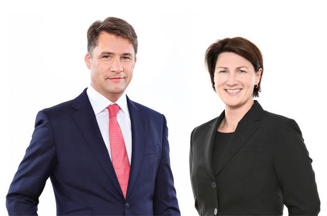 Michael Lagler und Arabella Eichinger