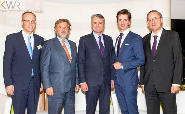 Alexander Biach, Michael Sachs, Jörg Zehetner, Florian Frauscher, Günther Ofner © leadersnet.at / C. Mikes