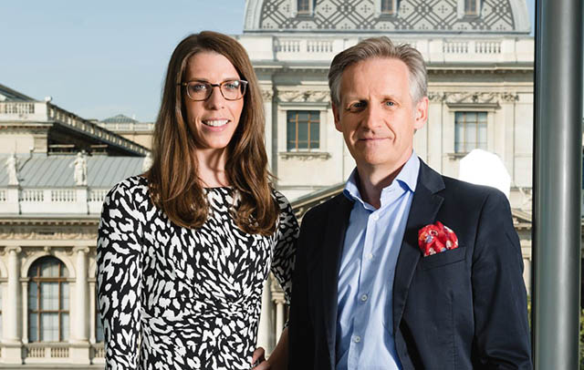 Marie-Luise Pugl und Stefan Artner