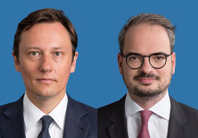 Claus Schneider und Matthias Schimka
