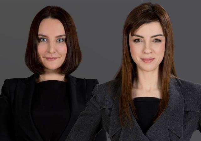 Ekaterina Larens und Jolita Hoxholli