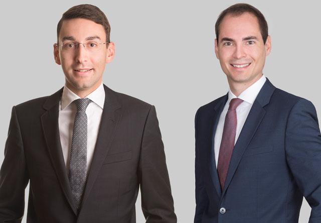 Nicholas Aquilina und Markus Arzt