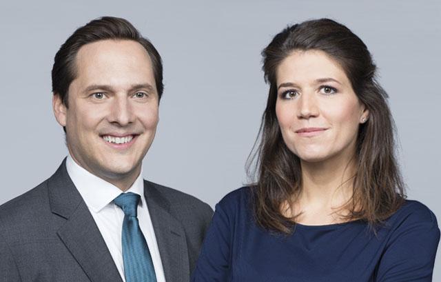 Wendelin Ettmayer und Karin Bruchbacher