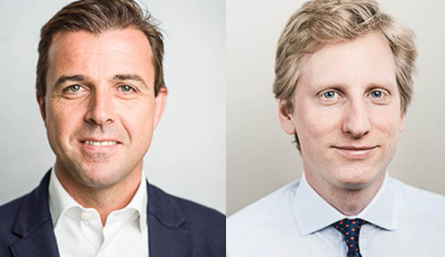 Philipp Kinsky und Carl Walderdorff (beide Corporate)