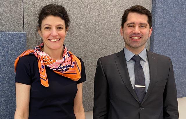 Nadia Kuzmanov und Martin Kollar verstärken den Führungskreis der Kanzlei